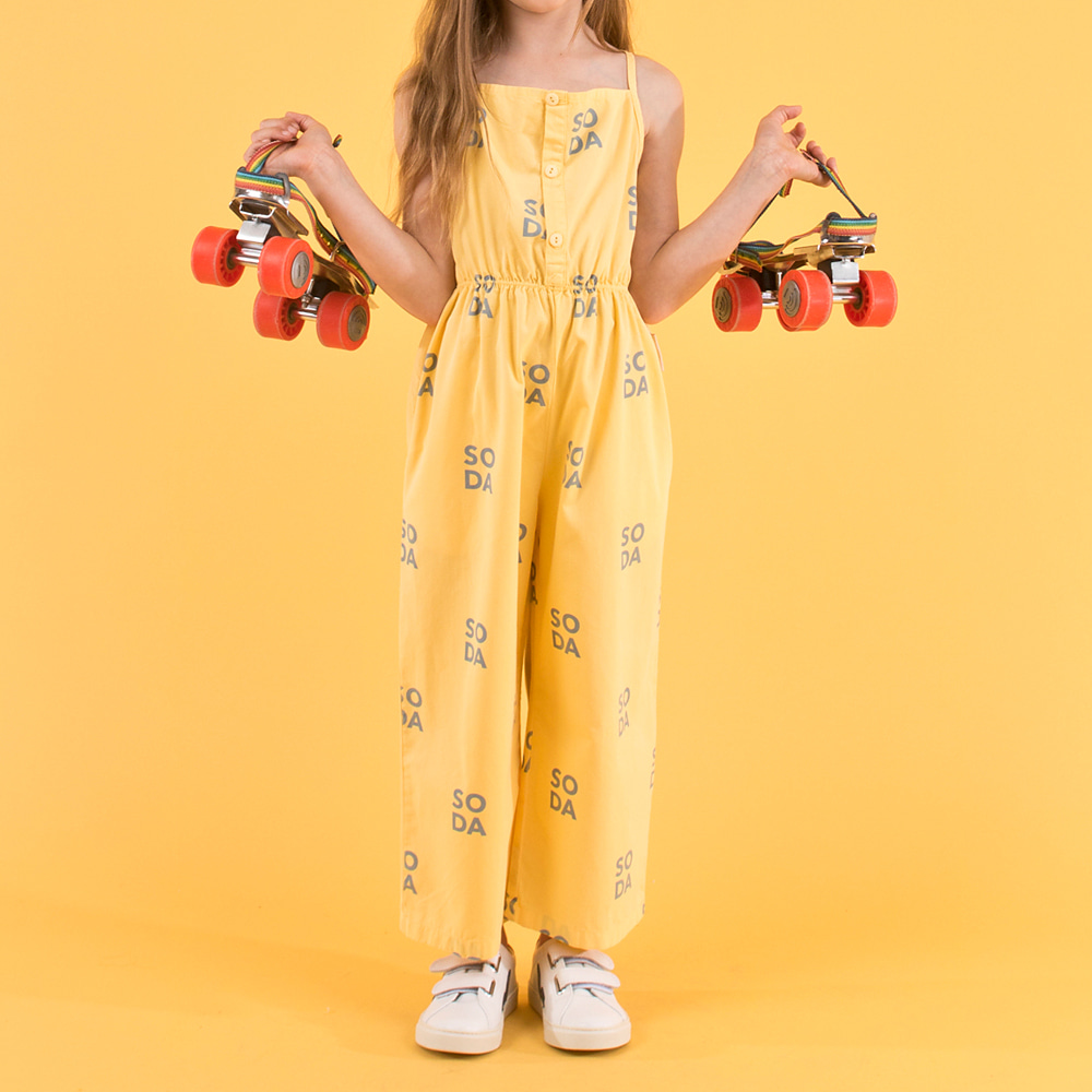 SODA BRACES JUMPSUIT