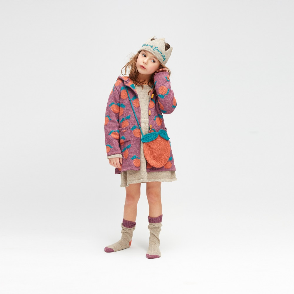우프 CLEMENTINE TOGGLE COAT_MAUVE/A