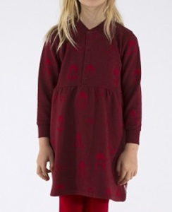 [AW17-083]no-worry dolls fleece dress