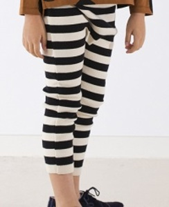 [AW17-223]stripes knit pant_beige/black