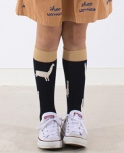 [AW17-295]llamas hairy high socks