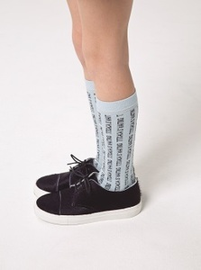 [AW17-299]titicaca high socks