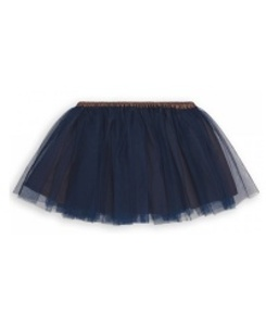 GIRL TULLE SKIRT_MARINE