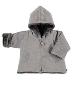 PAU HOODED JACKET_GRIS