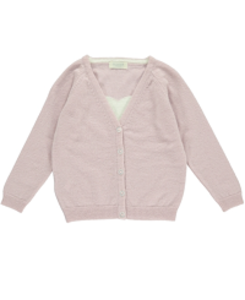 olivier mini heart cardigan_dusty rose