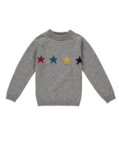 bailey cashmere star jumper_elephant
