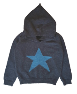 cashmere toby hooded jumper_navy