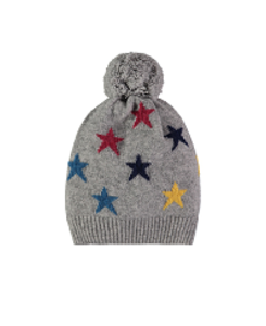 cashmere mini star hat_elephant