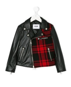 MSGM LEATHER JACKET BOY_011403.110
