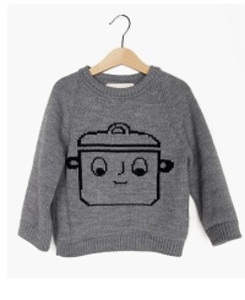 KNITTED JUMPER COOKING POT 17a-11