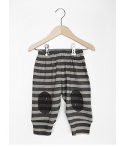 BABY PANT GREY STRIPES