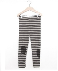 LEGGINGS GREY STRIPES