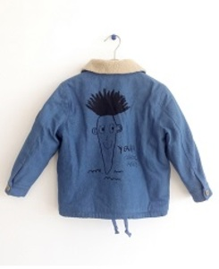 DENIM JACKET CARROT ANDI