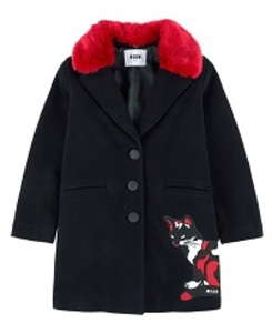 MSGM WOOL COAT GIRL_010922.110