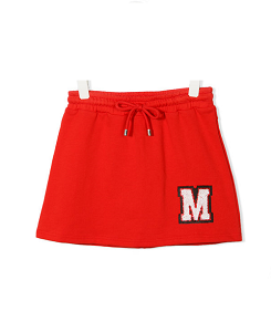 FLEECE SKIRT GIRL-RED