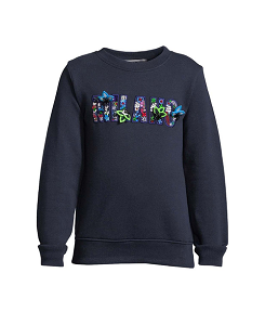 SWEATSHIRT GIRL-BLU