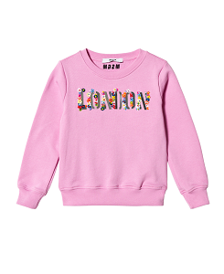 SWEATSHIRT GIRL-pink
