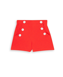 GIRL RED SHORTS_ROUGE FESSEE