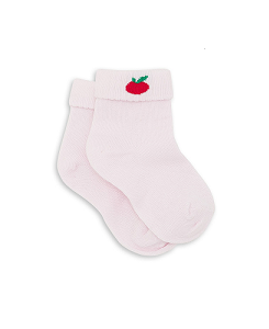 GIRL SOCKS APPLE_ROSE DOUCEUR