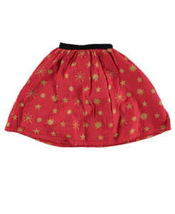 Kids SKIRT _Red