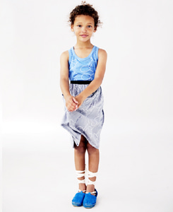 Kids SKIRT _Gray