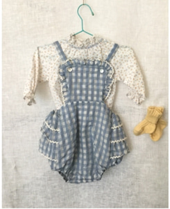 BOON BABY ROMPER_PALE BLUE
