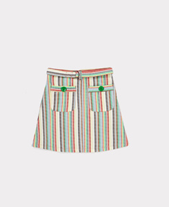 HURON SKIRT_MULTI STRIPE
