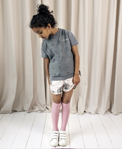 Cotton SOS Shorts-Chalk Blush