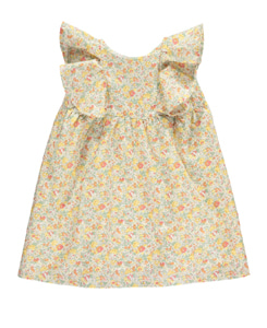 AMBERLILY DRESS-CLAIRE AUDE YELLOW