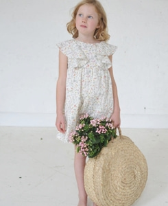 AMBERLILY DRESS-THEO PALE PINK