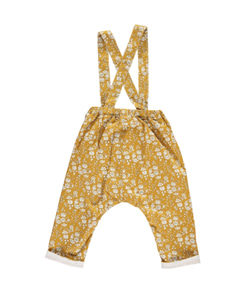 EVELYN TROUSER WITH BRACES-CAPEL MUSTARD