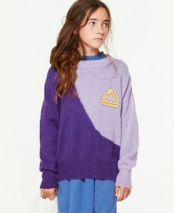 타오 BICOLOR BULL KIDS SWEATER 000831_120_JF