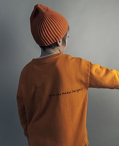 Relaxed Fit Sweater_Orange [Z-6]