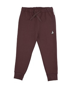 pigeon graphic pant_plum [Z-31]