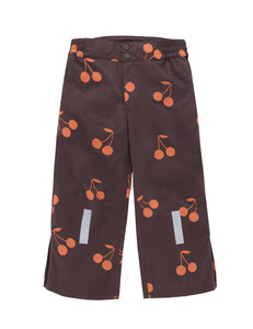 "타이니코튼 ""big cherries""snow pant_plum/red"