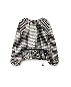 Checked Blouse_Checked [Z-15]