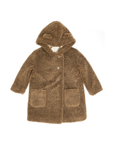 coat with hood _ castagna[Z-2]