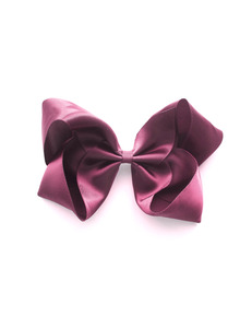 Large Satin Hair Clip _ Victorian Rose [Z-26]