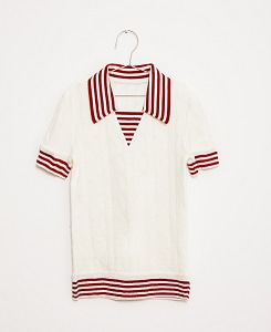 SAILOR KNITTED TOP_WHITE