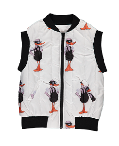 캐롤라인보스만 PRINTED BODY WARMER_DUCK