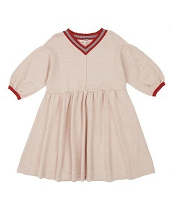 카라멜 Islington Dress_Oatmeal Melange