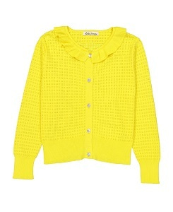 헬로시모네 sara cardigan_yellow