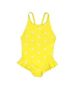 헬로시모네  ondine swimsuit_dots yellow