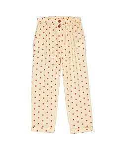 헬로시모네  georgia pant_dots red