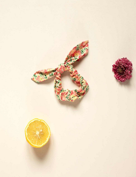 [LOUISE MISHA] Kimmi Scrunchie-Pink Meadow