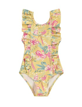 Bathing Suit Mosillos Soft Honey Parrots